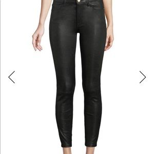Frame leather pants